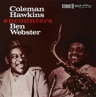 Coleman Hawkins Encounters Ben Webster  Black