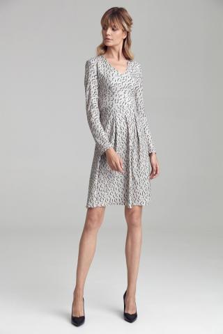 Colett Womans Dress Cs47 Panther dámské wzorzysty 36