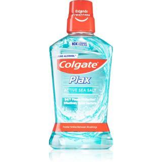 Colgate Plax Active Sea Salt ústní voda proti zubnímu plaku bez alkoholu 500 ml 500 ml