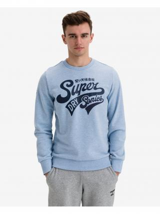 Collegiate Mikina SuperDry pánské modrá XXL