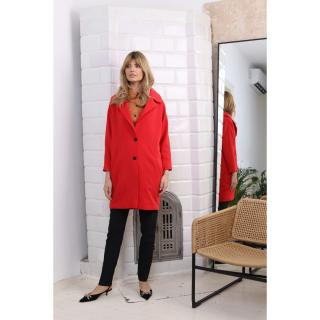Colour Mist Womans Coat B326 dámské Red XS