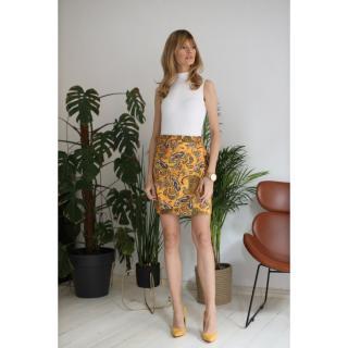Colour Mist Womans Skirt B327 dámské Camel XS