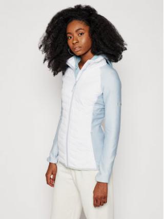 Columbia Bunda pro přechodné období Powder Lite Fleece 1803811100 Bílá Slim Fit dámské XS
