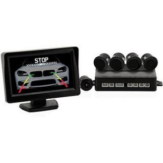 COMPASS Parkovací asistent 4 senzory   zadní kamera