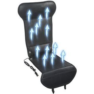 COMPASS Potah sedadla s ventilací 12V STRICK AIR black