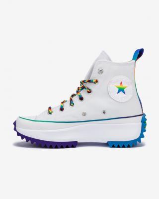 Converse Run Star Hike Hi Pride Tenisky Bílá dámské 37
