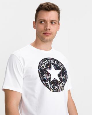 Converse Splatter Paint Chuck Patch Triko Bílá pánské XXL