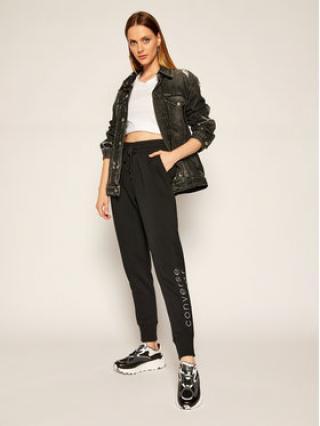 Converse Teplákové kalhoty All Star 10019803-A01 Černá Regular Fit dámské L