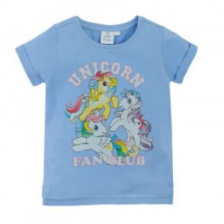COOL CLUB Dívčí tričko s kr. rukávem My little pony 134