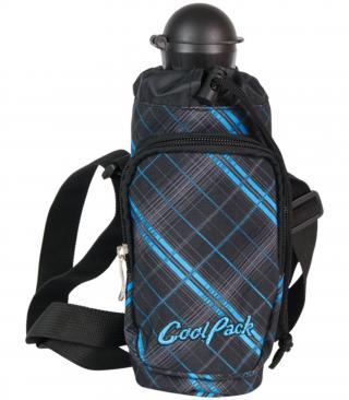 CoolPack Láhev s pouzdrem Tramp Scotish blue
