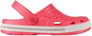 Coqui Dámské pantofle Lindo New Rouge/Khaki Grey 6413-100-4246 37 dámské