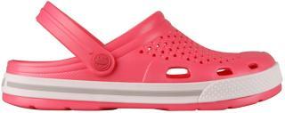 Coqui Dámské pantofle Lindo New Rouge/Khaki Grey 6413-100-4246 42 dámské