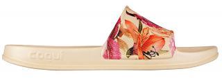 Coqui Dámské pantofle Tora Lt.Beige/Roses 7082-208-6100 36 dámské