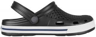 Coqui Pánské pantofle Lindo Antracit/White 6403-100-2432 45 pánské