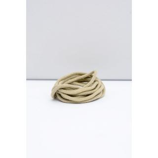 Corbby Beige Round Shoelaces Neurčeno 60 cm