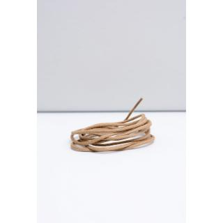 Corbby Beige Waxed Thin Laces Neurčeno 90 cm