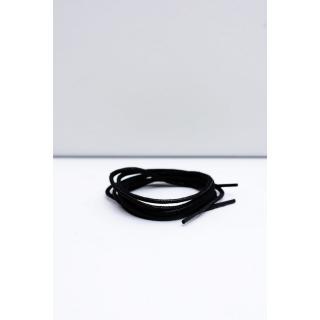 Corbby Black Waxed Thin Laces Neurčeno 60 cm