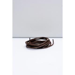 Corbby Brown Waxed Thin Laces Neurčeno 60 cm