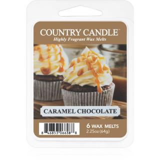 Country Candle Caramel Chocolate vosk do aromalampy 64 g 64 g