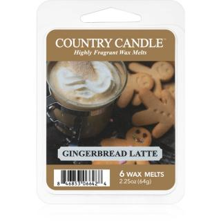 Country Candle Gingerbread Latte vosk do aromalampy 64 g 64 g