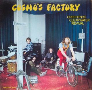 Creedence Clearwater Revival Cosmos Factory  Black