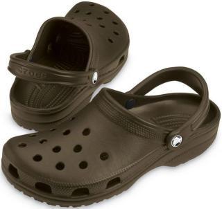 Crocs Classic Clog Chocolate 45-46 pánské Brown 45-46