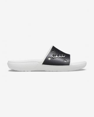 Crocs Classic Crocs Colorblock Pantofle Černá Bílá dámské 43-44