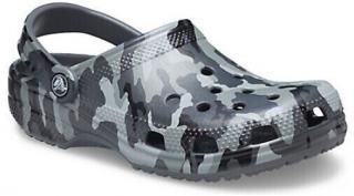 Crocs Classic Printed Camo Clog Slate Grey/Multi 36-37 pánské 36