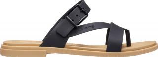 Crocs Dámské žabky Crocs Tulum Toe Post Sandal W Black/Tan 206108-00W 38-39 dámské