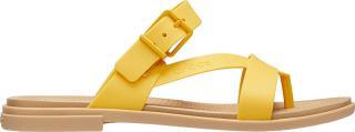 Crocs Dámské žabky Crocs Tulum Toe Post Sandal W Canary/Tan 206108-75Q 41-42 dámské
