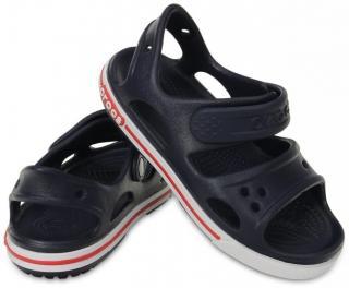 Crocs Preschool Crocband II Sandal Navy/White 20-21 Navy blue 20-21