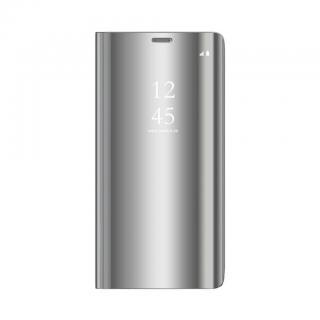 Cu-Be Clear View flipové pouzdro Huawei Y5 2019 / Honor 8s silver