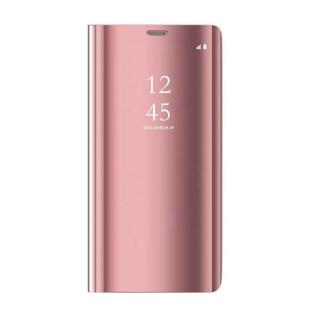 Cu-Be Clear View flipové pouzdro Huawei Y5P pink