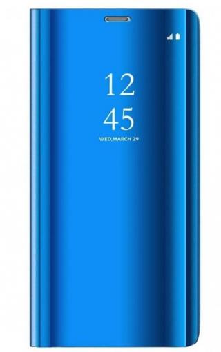 Cu-Be Clear View flipové pouzdro Huawei Y6P blue