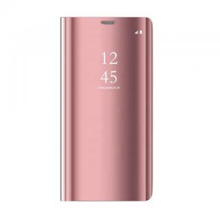Cu-Be Clear View flipové pouzdro Huawei Y7 2019 pink