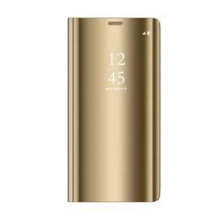 Cu-Be Clear View flipové pouzdro Samsung Galaxy A31 gold