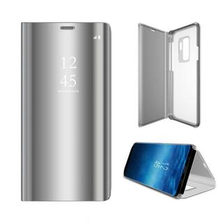 Cu-Be Clear View flipové pouzdro Samsung Galaxy A31 silver