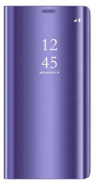 Cu-Be Clear View flipové pouzdro Samsung Galaxy A31 violet