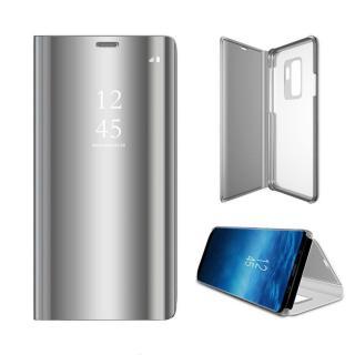 Cu-Be Clear View flipové pouzdro Xiaomi Redmi 9A silver