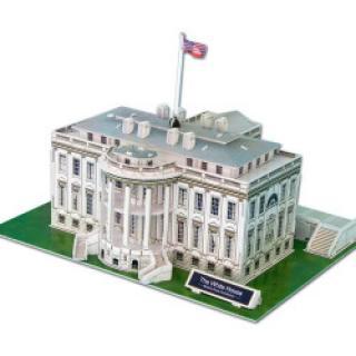 CubicFun Puzzle 3D Bílý dům 64 dílků