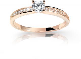 Cutie Jewellery Úchvatný třpytivý prsten Z6713-2523-10-X-4 49 mm dámské