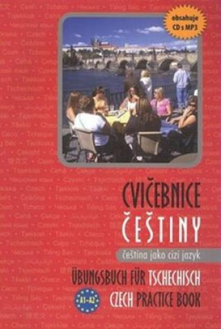 Cvičebnice češtiny, čeština jako cizí jazyk   mp3 A1–A2 - Blanka Sýkorová, Davidová Hana