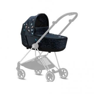 CYBEX Mios Lux Carry Cot Jewels of Nature 2021 modrá