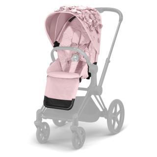 CYBEX Sedačka sportovní Priam Seat Pack Simply flowers light pink růžová