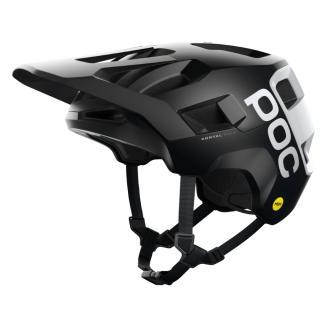 Cyklistická Přilba Poc Kortal Race Mips  Black Matt/Hydrogen White M/L