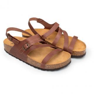 Dámské sandály Bakio hnědá 42