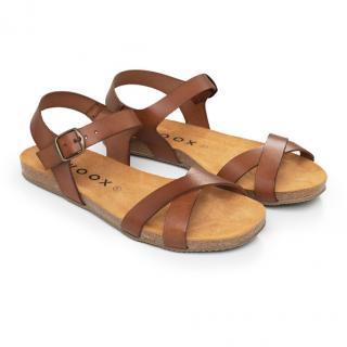 Dámské sandály Fidea Natura hnědá 38