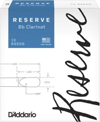 DAddario-Woodwinds Reserve 2 Bb clarinet