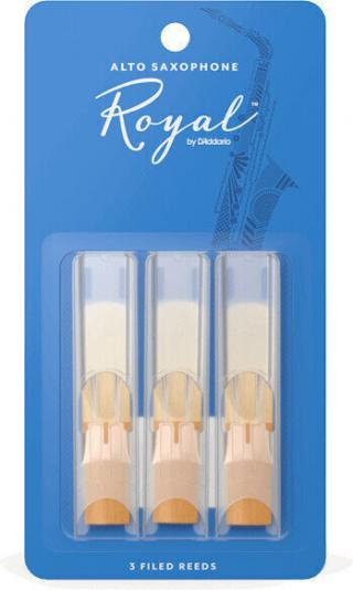DAddario-Woodwinds Royal 3 Pack 1.5 Alto Sax