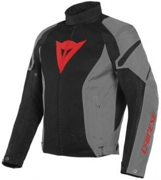 Dainese Air Crono 2 Tex Jacket Black/Charcoal Gray/Charcoal Gray 56 pánské 56